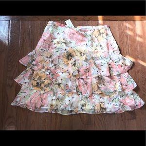 LOFT frilly skirt